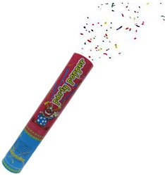 Discover Bargain Party Popper / 11 Confetti Shooter (6 Pieces)