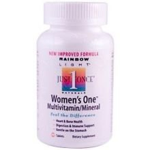 Rainbow Light Just Once Womens One Multivitamin Tablet - 90 Per Pack -- 3 Packs Per Case.