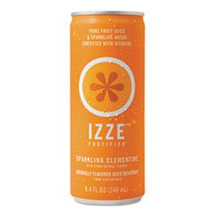 * Fortified Sparkling Juice, Clementine, 8.4 Oz Can, 24/Carton *