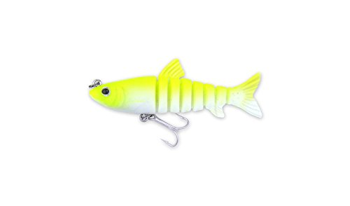 Egret Baits Vudu Mullet, 3-1/2-Inch, Chartreuse (Snook Fishing compare prices)