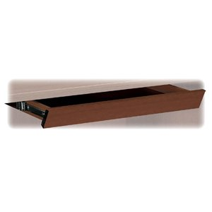 Laminate Angled Center Drawer, 26w x 15-3/8d x 2-1/2h, Shaker Cherry