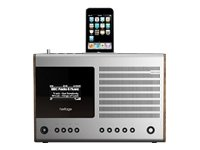Revo HERITAGE Stylish Digital DAB FM Wi-Fi Internet Radio with iPod Dock