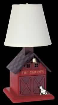 Firehouse Lamp