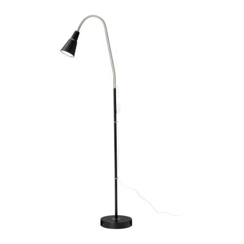 クヴァルト / KVART / フロア/読書ランプ / ブラック[イケア]IKEA(40152416)