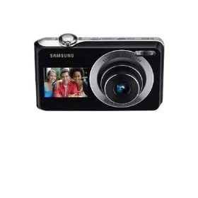 Samsung Dual View TL205 12.2MP Digital Camera with 3x Optical Zoom - Silver