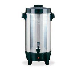 Stainless Steel 42 Cup Automatic Party Perk Coffee
