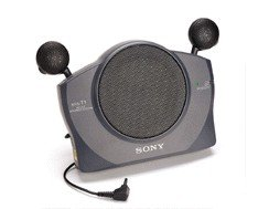 Sony Srs-T1 Unique Fold-Able Mini Active Speaker System For All Ipod / Mp3 / Laptop / Computer