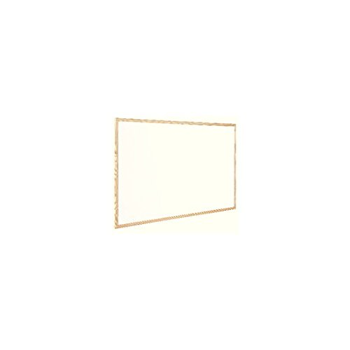 Q Connect Wooden Frame 600x400mm Whiteboard