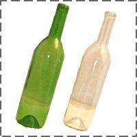 ワイン720ml瓶-グリーン【同梱不可】【まとめ買い値引き除外品】