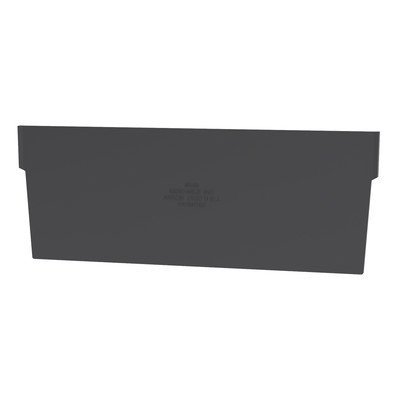 "Divider for Shelf Bins   Size: 2.91"" H x 6.08"" W x 0.16"" D"