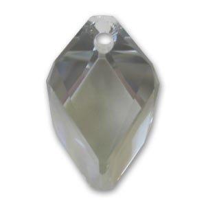 Pendente Cubist Swarovski 6650 mm. 22 Black Diamond x1