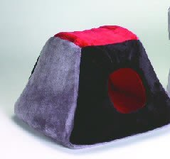 Classic Pet Products Triangle Tunnel Cat or Small Dog Bed