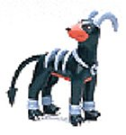 "Takaratomy Houndoom (MC-89): Pokemon Monster Collection 2"" Mini Figure - 1"
