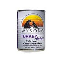 Wysong Turkey Au Jus 95% Meat Canine/Feline Diet Canned Dog Food