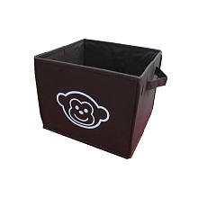Koala Baby Canvas Monkey Bin - Brown