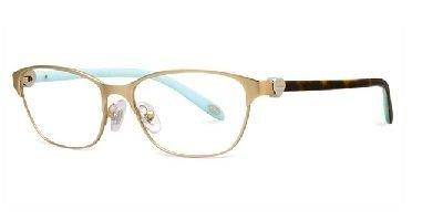 TIFFANY Eyeglasses TF 1072 6064 Matte Gold 51MM