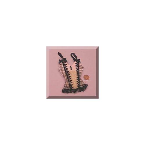 6ea   Pink & Black Camisole Bag