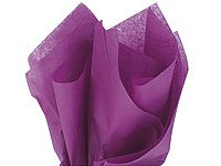 "Bulk Tissue Paper Plum Purple 20"" X 30"" - 48 Sheets front-596801"