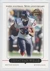 2005 Topps #148 Jonathan Wells Houston Texans Football Card