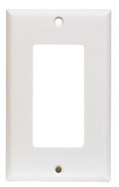 Cooper Wiring Devices 2151W-Sp-L Thermoset 1-Gang Standard Size Decorator/Gfci Wall Plate, White