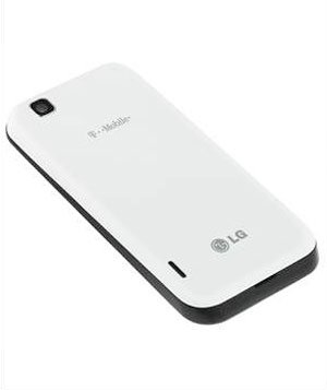 Lg Mytouch E739 Android Unlocked GSM Smartphone White - (T-mobile)