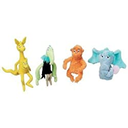 Dr Seuss HORTON HEARS A WHO! Finger Puppet Set