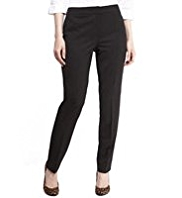 M&S Collection New Wool Rich Ankle Grazer Modern Slim Leg Trousers