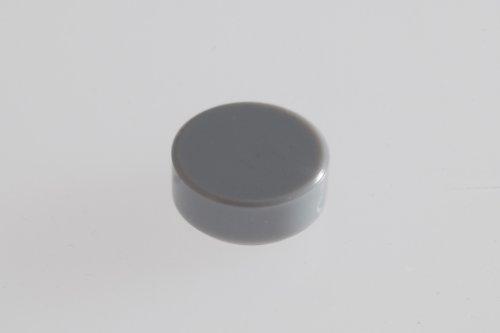 250x Lego Medium Stone Grey (Light Grey) 1x1 Round Tiles Super Pack