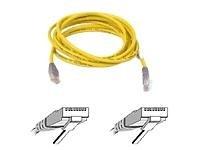 Belkin-Cat5-UTP-Crossover-Kabel-3m-gelb