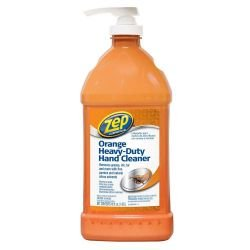ZEP 48 oz. Heavy Duty Orange Hand Cleaner and Degreaser with Pump