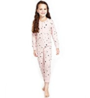 Pure Cotton Soft & Cosy Star Print Onesie