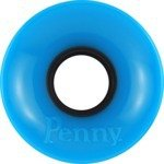 Penny Cyan Skateboard Wheels - 59mm 78a (Set of 4)