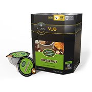 Green Mountain Coffee Hazelnut Light Roast Coffee Keurig Vue Cups, 16 Count(Case Of 2)