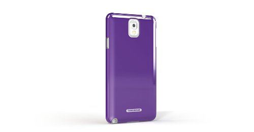 Tunewear Quality Egg Shell Durable Hard Shell Case for Samsung Galaxy Note 3 - Retail Packaging - Purple