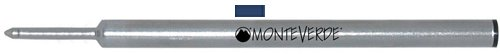 Monteverde C221BB Recharge pour stylo roller Bleu Nuit Lot de 2