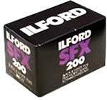 イルフォード 赤外感光性モノクロフィルム SFX200 135-36枚撮り