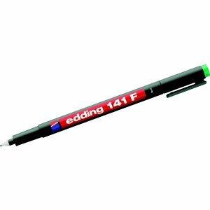 10-x-edding-folienschreiber-141f-permanent-grun
