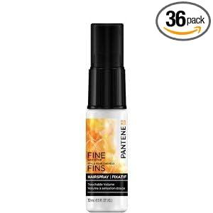 Pantene Pro-V Hair Spray 1 oz. Fine Touch (Pack of 36)