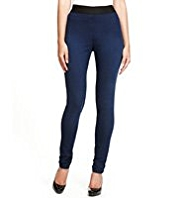 M&S Collection Pull On Denim Jeggings
