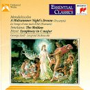 Bizet: Symphony in C Major / Mendelssohn: A Midsummer's Night Dream Incidental Music / Smetana: The Moldau (Essential Classics) (Bizet Symphony In C Major compare prices)