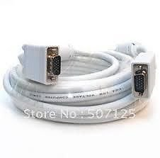 Terabyte VGA SVGA (Display Cable) Cable 20Meter 15Pin( Mm)With Ferrite Cores