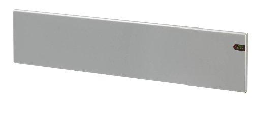 Adax Neo - Radiador convector el�ctrico de pared (600 W, bajo consumo, perfil estrecho), color plateado
