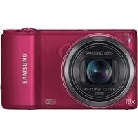 Samsung WB250F Smart Wi-Fi Digital Camera (Red)