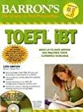 img - for Barron's TOEFL iBT with CD-ROM and 2 Audio CDs 13th (thirteenth) edition Text Only book / textbook / text book