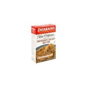 Zatarains Smothered Chicken Rice Mix, 8 Ounce -- 12 per case. (Smothered Chicken Rice compare prices)