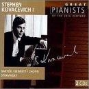 echange, troc  - Stephen Kovacevich - Les Grands Pianistes du XXème siècle Vol.2