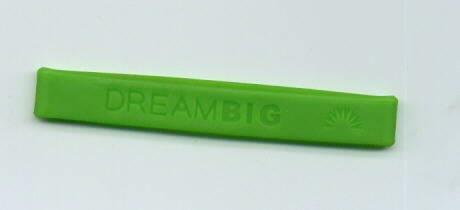 wristband baller band DREAM BIG bracelet silicone