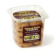 Udi's Gluten Free Oatmeal Raisin Cookies Tub 8.0 OZ (pack of 8)