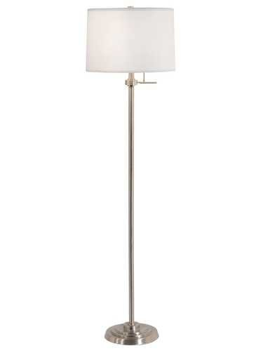 Floor Lamp With Drum Shade Floor Lamp With 95 Inch Drapes