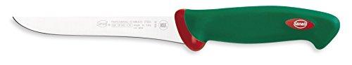 Sanelli Premana Coltello Disosso, Acciaio Inossidabile, Verde, 16 cm